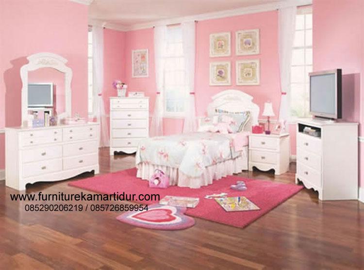 furniture kamar tidur anak perempuan set fkt k 373