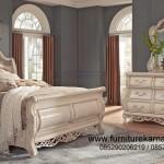 Jual Tempat Tidur Duco Putih Asli Jepara FKT-K 521