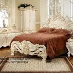 Set Kamar Tidur Ukiran Duco Putih Mewah FKT-K 459