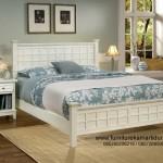 Furniture Kamar Dewasa Duco Putih Minimalis Kotak Kotak FKT-K 485