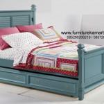 Mebel Kamar Tidur Anak dengan Warna Klawu FKT-T 463