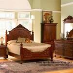 Set Kamar Tidur Jati Natural Furniture FKT-K 465