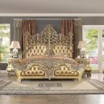 Furniture Mewah Set Kamar Tidur Duco Putih FKT-K 565